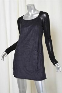 Ella Moss short dress Navy, Black Womens Navy Blue on Tradesy