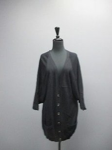 Ellen Tracy Stretchy Sleeve Womens Cardigan With Pockets 3285 Sweater