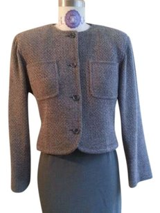Emanuel Ungaro Business Attire Grey Jacket