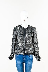 Emilio Pucci Metallic Black Jacket
