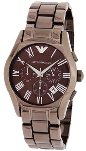 Emporio Armani Emporio Armani AR1610 Classic Men's Brown Steel Chronograph Watch