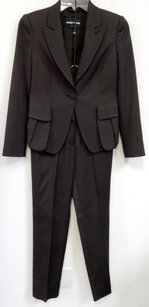 Emporio Armani Emporio Armani Italy Brown 2pc Jacket Pant Suit