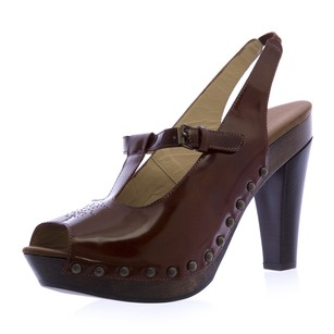 Emporio Armani Womens Brown Pumps
