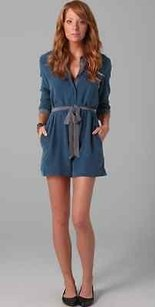 Equipment Blue Earl Indigo Dress