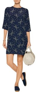 Equipment short dress Blue Shift on Tradesy