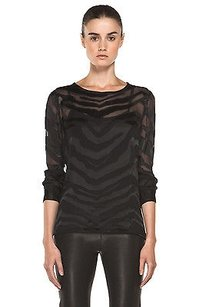 Equipment Femme Liam Tee Top Black