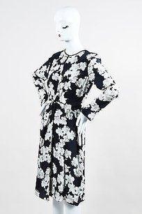 ERDEM short dress Navy White Silk Crepe on Tradesy