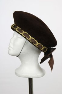 Eric Javits Eric Javits Womens Brown Gold Church Hat Os Valour Formal