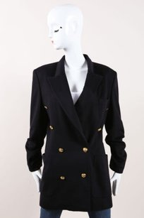 Escada Cashmere Gold Black Jacket