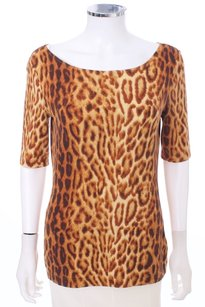 Escada Cotton T Shirt LEOPARD