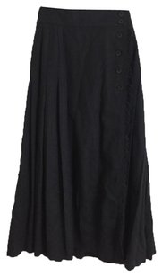 Escada Maxi Skirt Dark Grey