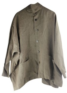 Eskandar Olive Green Jacket