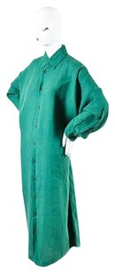 Eskandar short dress Green Hunter Linen on Tradesy