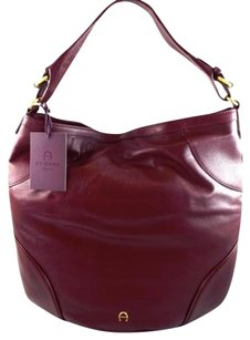 Etienne Aigner Leather Hobo Bag