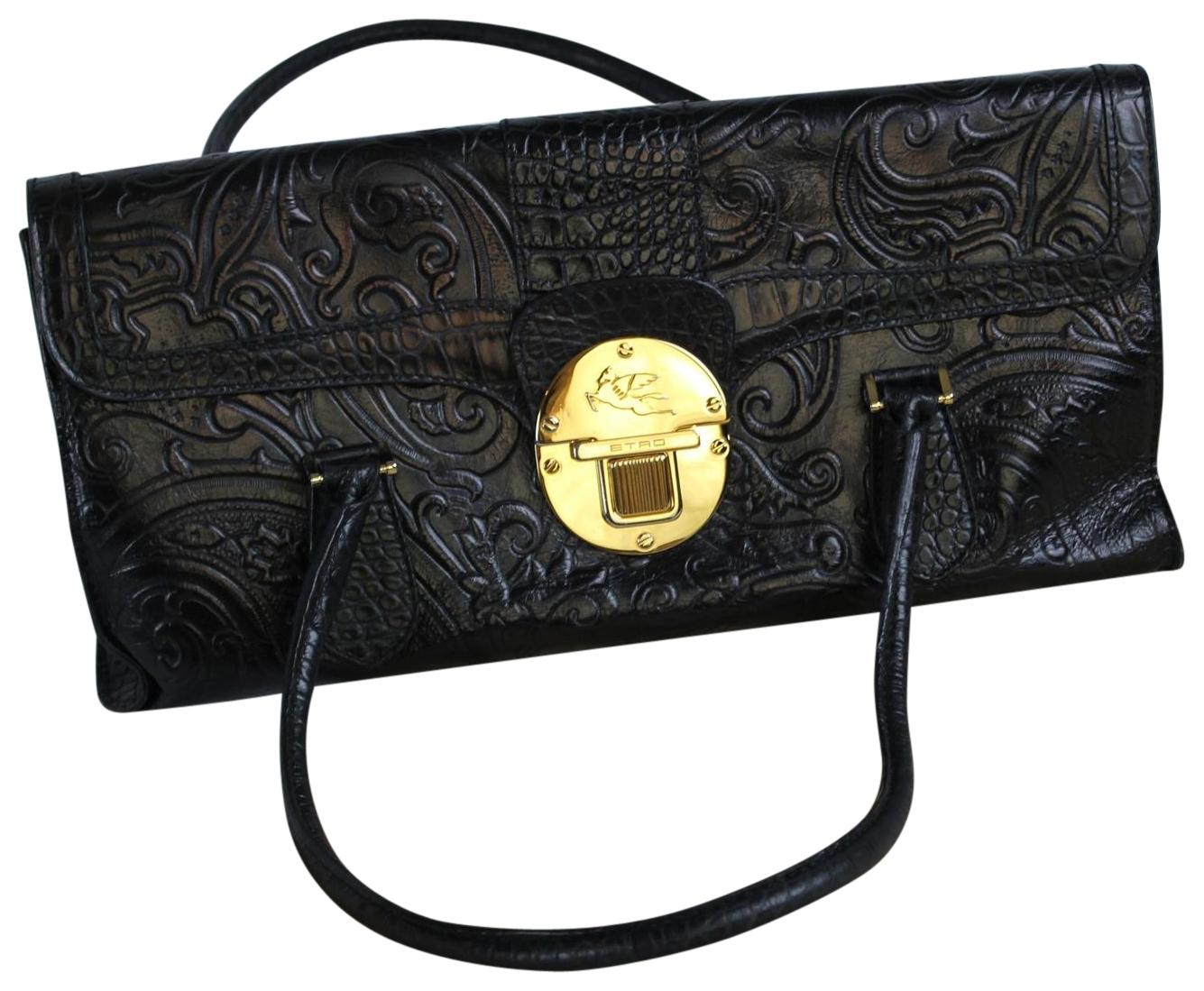 Leather shoulder bag Etro 07Nf0cKO