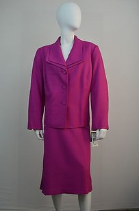 Evan Picone Evan Picone Mulberry Purple Two Piece Skirt Suit Size 20w Msrp