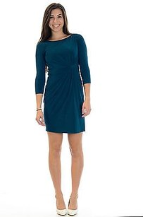 Evan Picone 4p Petite Teal Dress