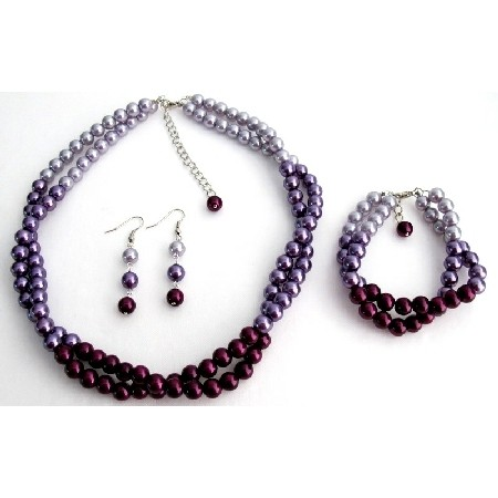 Light/Dark Purple Combo Colors Plum Lilac Match with Your ...