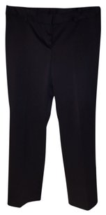 fashionista Satin Shiny Capris Black