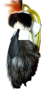 Fendi Black Friday mini Karlito with lamb leather, real mink and goat fur