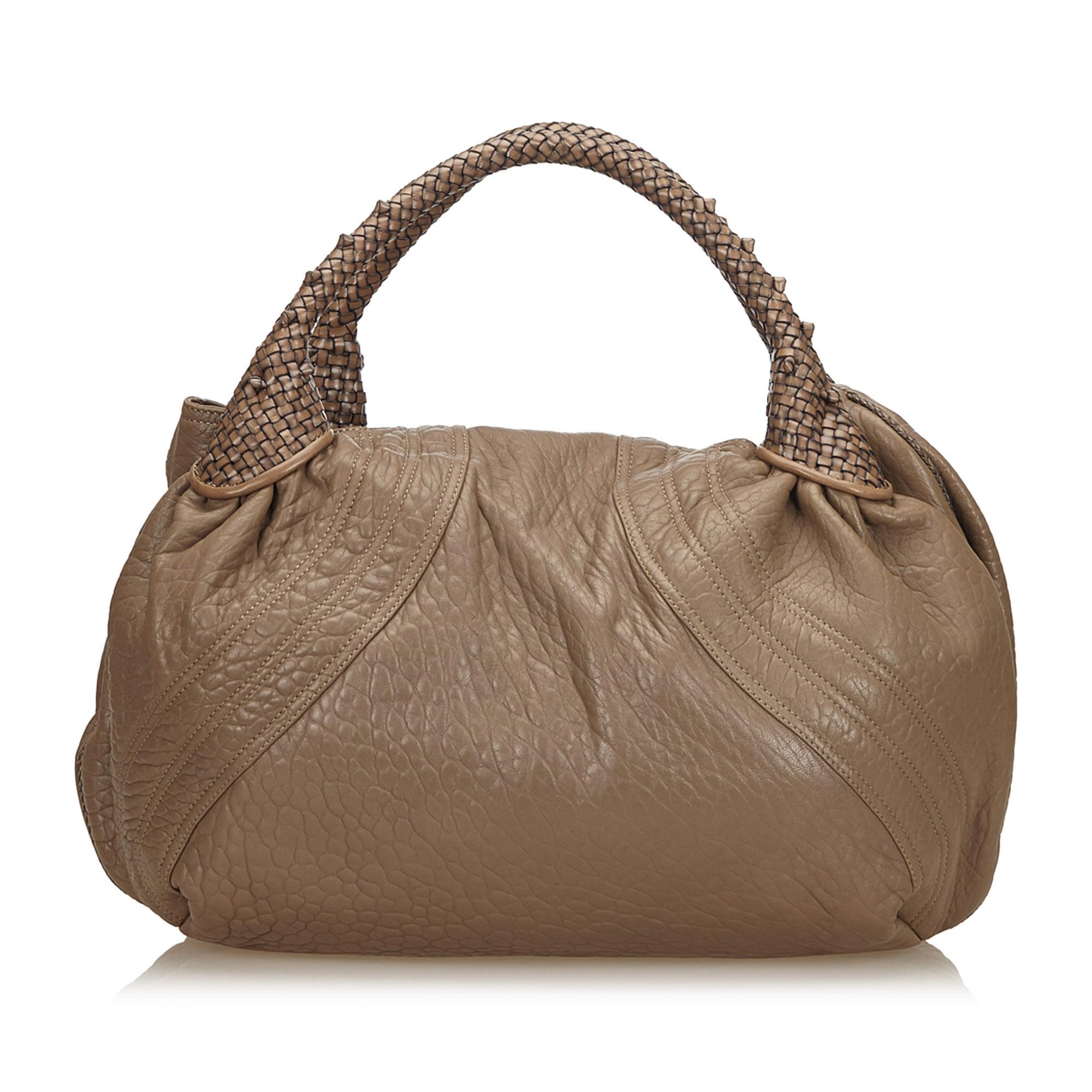 50ae6455c301 ... where can i buy fendi brown leather x others hobo bag tradesy 158a8  31917 ...