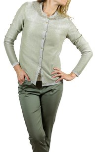 Fendi Green Sparkling Cardigan