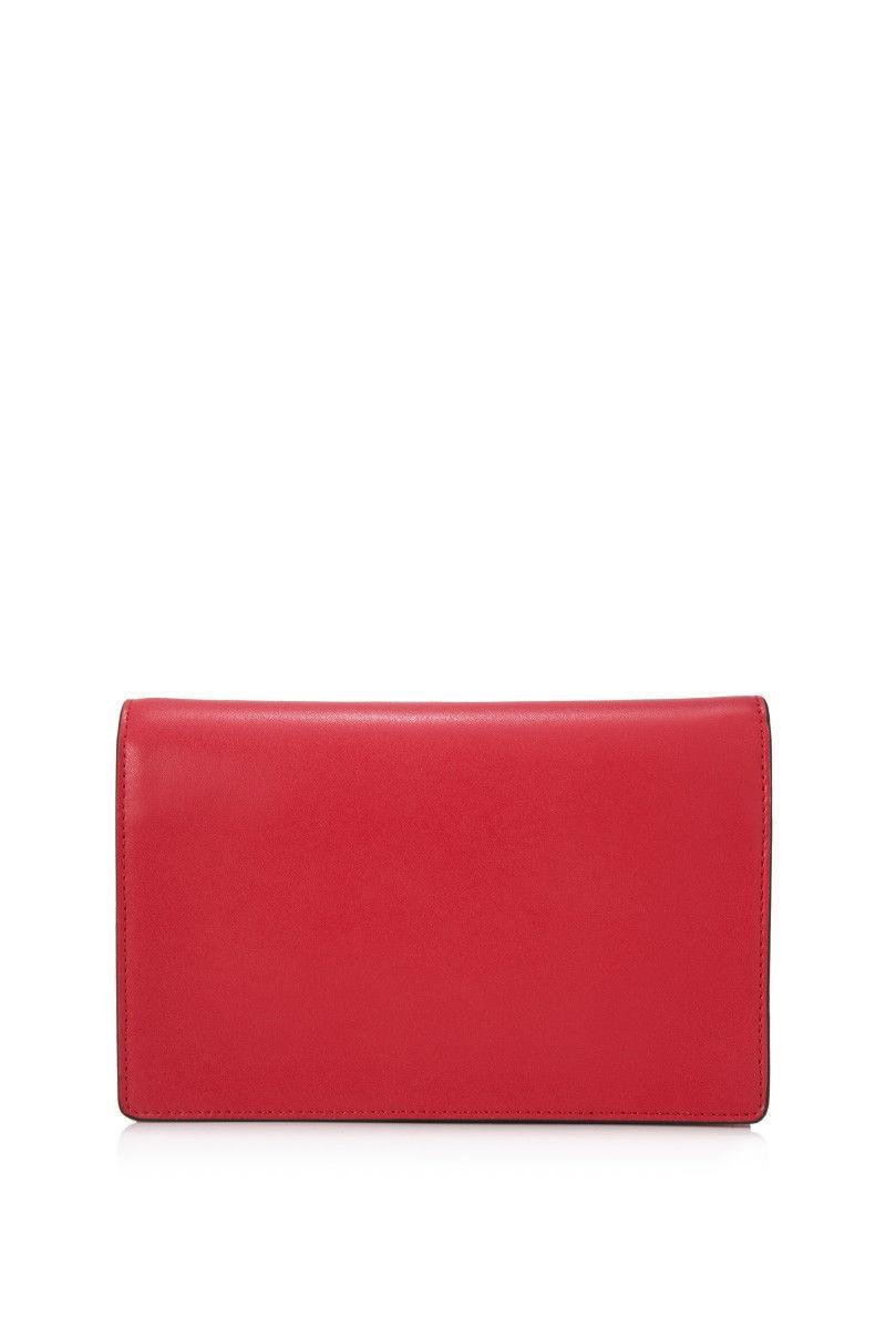 a163a21cb59 ... where can i buy fendi f is wallet on chain red calfskin leather tote  tradesy e1388 ...