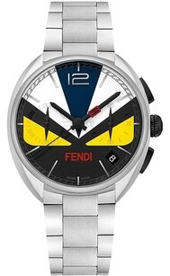 Fendi Fendi Momento Bugs Colored Dial Mens Steel Watch F215011500