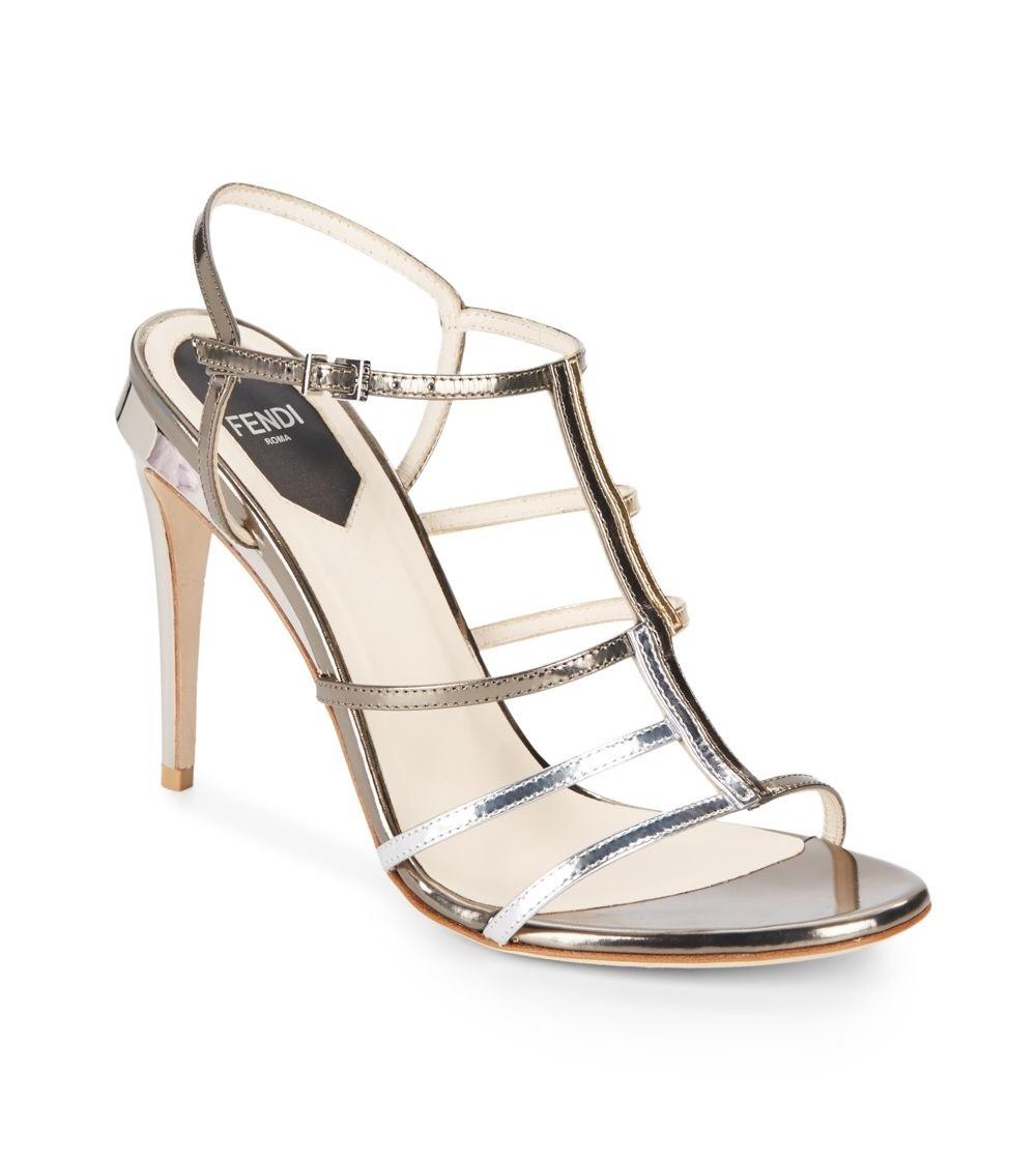 Fendi metallic sandals outlet browse discount outlet locations sale 2014 newest discount low price free shipping tumblr fsTuctZTkL
