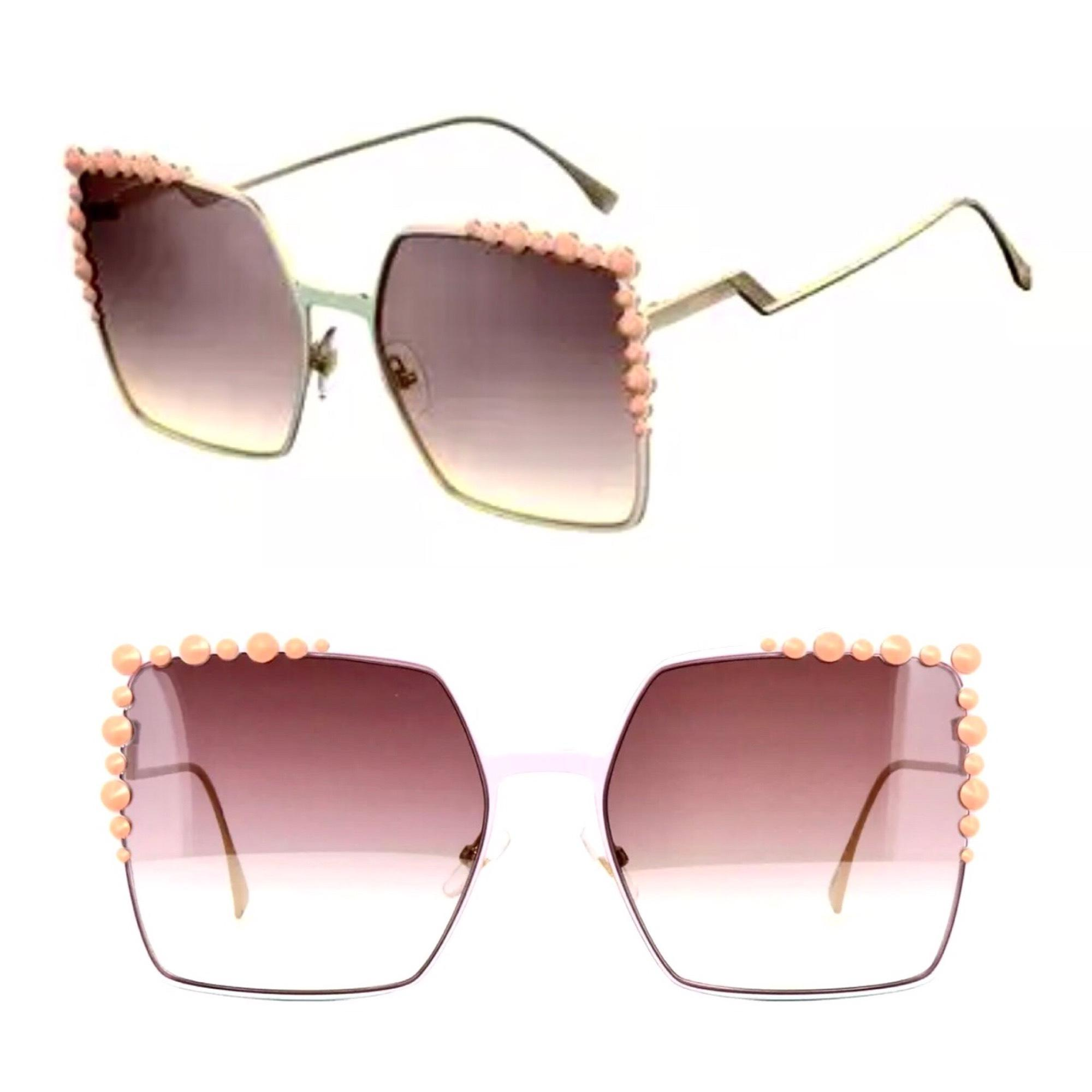 Fendi Square sunglasses 5A5T2h