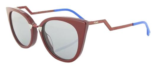 4516cae5973 Fendi red new orchidea zig zag cat eye blue sunglasses jpg 720x319 Zig zag  eyes