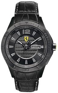 Ferrari Ferrari Scuderia Leather Mens Watch 0830093