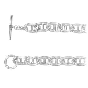 Fine Jewelry Vault Sterling Silver Link Chain Necklace 16mm