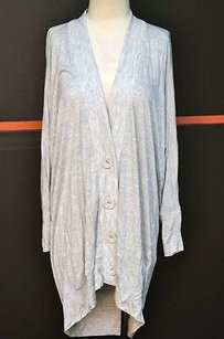 Fluxus Rayonpolyester Buttoned Long Cardigan 7179 Sweater