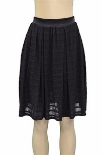 Forever 21 Twenty Textured Weave Skirt Black