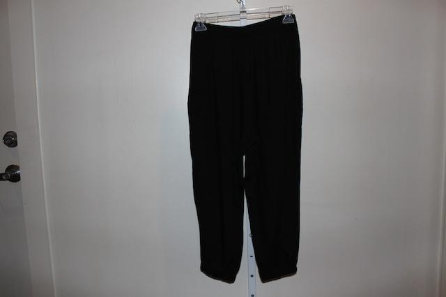 Forever 21 Black Gypsy Style Relaxed Fit Pants Size 4 S 27