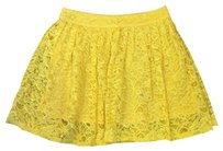 Forever 21 Mini Skirt Yellow