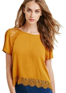 Forever 21 Top Mustard