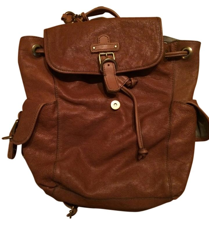 Fossil All Leather Drawstring Backpack 80%OFF - www ...