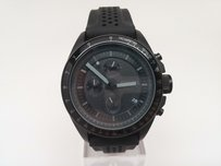 Fossil Ch2703 Fossil Decker Mens Black Silicone Rubber Band Chronograph Watch