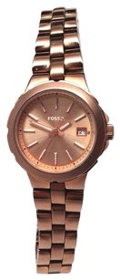 Fossil Fossil Am4402 Ladies Sylvia Stainless Steel Rose Gold Tone Watch