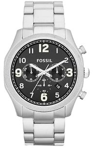 Fossil Fossil Foreman Stainless Steel Chronograph Mens Watch Fs4862