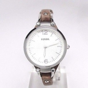 Fossil Fossil Georgia Tan Leather Ladies Watch Es3060 Doesnt Work