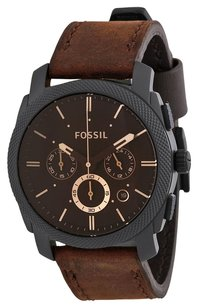 Fossil FOSSIL Machine Flight Chronograph Brown Dial Men's Watch FS4656
