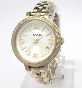 Fossil Fossil Mini Heather Gold Tone Womens Watch Es3194 Missing Links