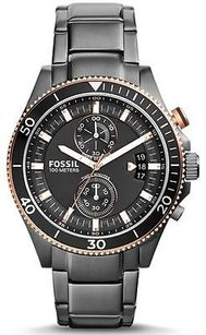 Fossil Fossil Wakefield Smoke-tone Chronograph Mens Watch Ch2948
