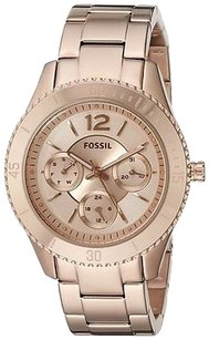 Fossil Fossil Stella Rose Gold-tone Ladies Watch Es3815