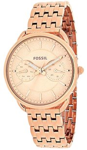 Fossil Fossil Es3713 Womens Watch Rose Gold -