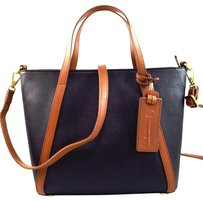 Fossil Ava Brown Satchel in Black