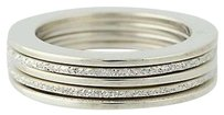 Franco Pianegonda Pianegonda Stackable Bands - Sterling Silver Set Of Five Rings 12 -